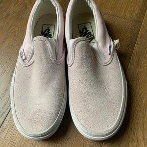 Vans slip on 59 washed nubuck leather canvas shoes